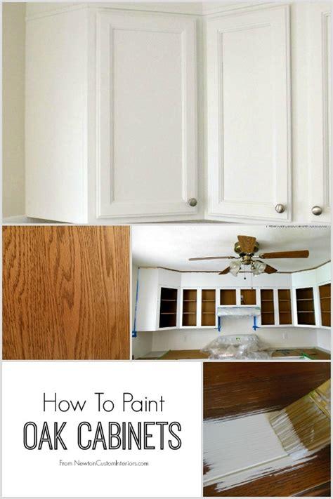 How To Paint Oak Cabinets - Tips For Filling In Oak Grain