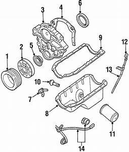 Ford Aerostar Engine Timing Cover  Liter  Sho  Cylinder