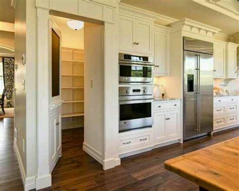 Walk In Pantry Behind The Kitchen  For The Home  Pinterest