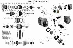 Transmission Repair Manuals 01j Cvt  Audi