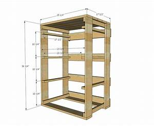 Wood Pallet Dresser Plans - WoodWorking Projects & Plans