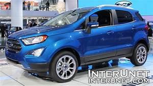 Ford Ecosport Titanium Business : 2018 ford ecosport titanium new compact suv youtube ~ Medecine-chirurgie-esthetiques.com Avis de Voitures