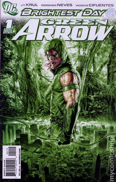 green arrow   series dc comic books