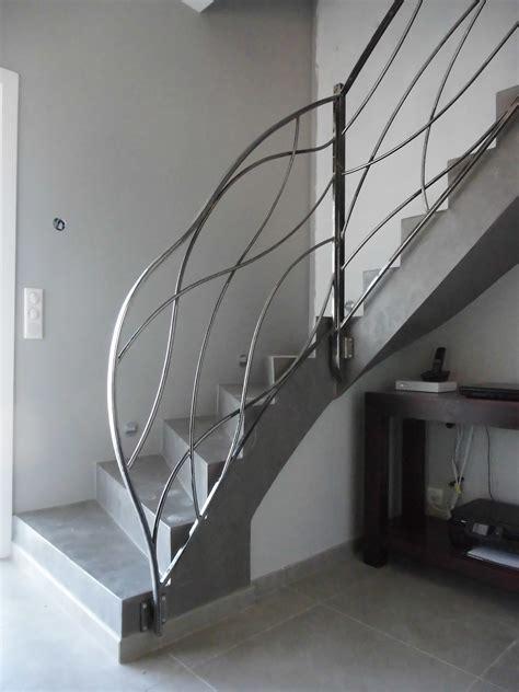 Rampe Escalier Interieur Moderne Obasinccom