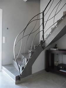 Rampe D Escalier Moderne : rampe d escalier moderne vente rampes d 39 escalier hy res toulon montpellier ~ Melissatoandfro.com Idées de Décoration