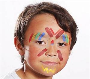 Maquillage Simple Enfant : pour le carnaval maquillez votre enfant en petit indien ~ Melissatoandfro.com Idées de Décoration