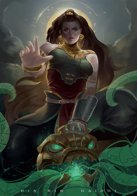 Did You There Is A League Of Legends Anime And News Of Legends 187 Illaoi League Of Legends News And Content