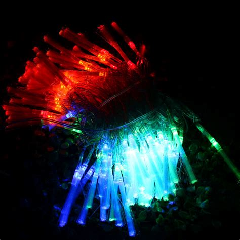100 led 10 meters colorful fiber optic