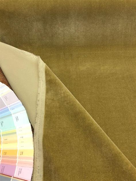 Affordable Upholstery Fabric by Fabricut Linden Velvet Green Upholstery Fabric By The