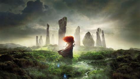 hd hintergrundbilder legende der highlands merida