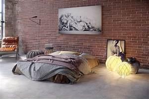 chambre dans un loft industriel With chambre style loft industriel