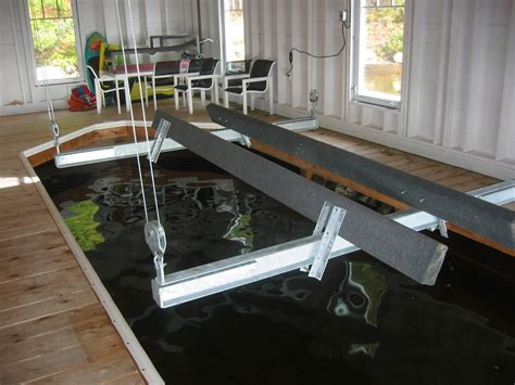 Boat Lift With Straps by Getting Started Ace Boat Lifts Of Muskoka