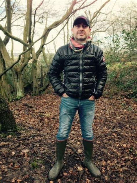 great   autumn bubble vest skinny jeans