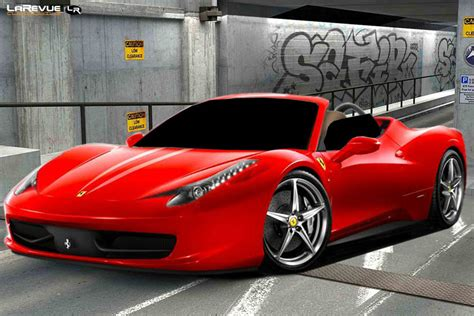 Deco Murale Chambre Garcon - f458 italia spider wallpapers wallpapers