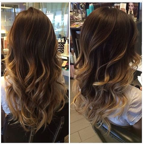 Rich Glossy Brown Hair by Rich Brown With Caramel Melt Subtle Ombre Hairstyles