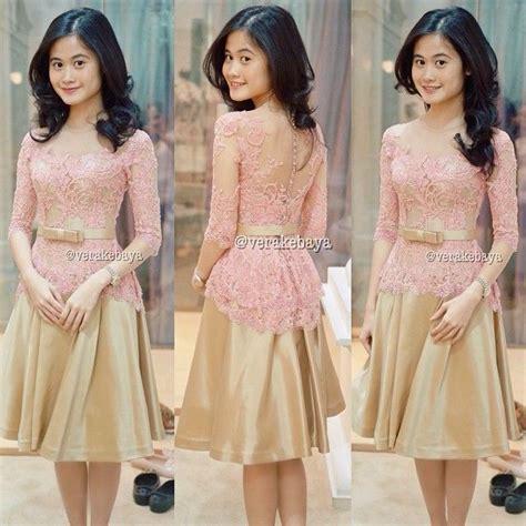 contoh contoh gambar model baju kebaya modern