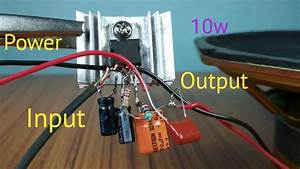 10w Audio Amplifier With Tda2003