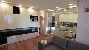 Home, Interior, Walk, Through, Living, Room, Warehouse, Conversion, Empty, Space, Modern, Apartment, Stock