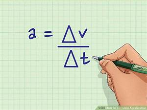 Acceleration Formule 1 : how to calculate acceleration wikihow ~ Medecine-chirurgie-esthetiques.com Avis de Voitures