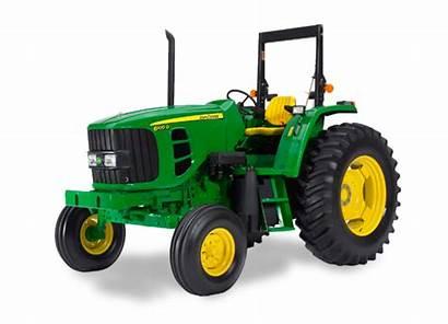 Deere Tractor John Tractors 6100d Series Utility