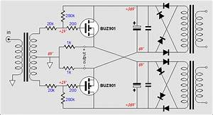 mosfet push pull buffer amplifier With as shown below a p channel power mosfet irf4905 is used and it is
