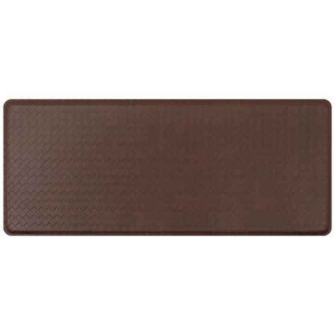 Gelpro Basketweave Comfort Floor Mat by Gelpro Classic Basketweave Truffle 20 In X 48 In Comfort
