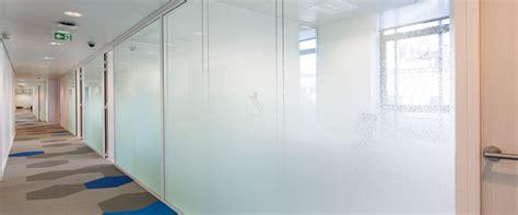 cloison de bureau en verre cloison amovible vitrée cloisons de bureaux en verre