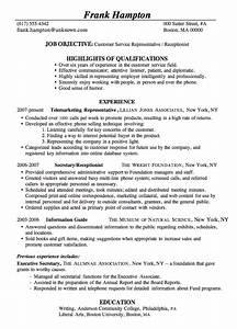 10 Perfect Receptionist Resume  SampleBusinessResume   SampleBusinessResume