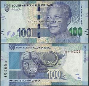 Ebanknoteshop. South Africa,P136,B765a,100 Rands