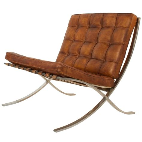 barcelona chair by ludwig mies der rohe at 1stdibs