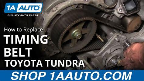 replace toyota tundra timing belt