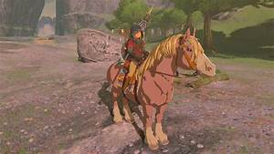 How To Care For Your Horse In Zelda Breath Of The Wild