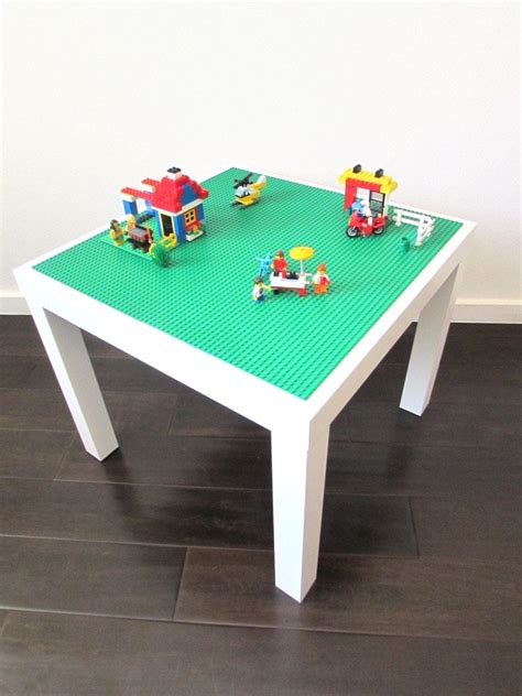 lego activity table for creative play with by timelesstoybox
