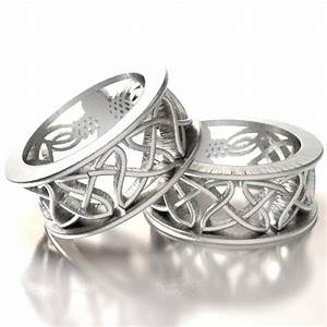 sterling silver owl wedding ring set his and hers wedding With celtic wedding rings his and hers