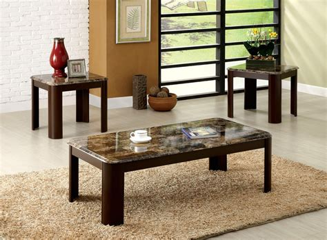 accent table ls contemporary carson contemporary dark cherry accent tables with faux