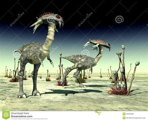 la vie extraterrestre illustration stock image 40993508