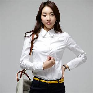 2013-spring-autumn-ladies-formal-slim-long-sleeve-white ...
