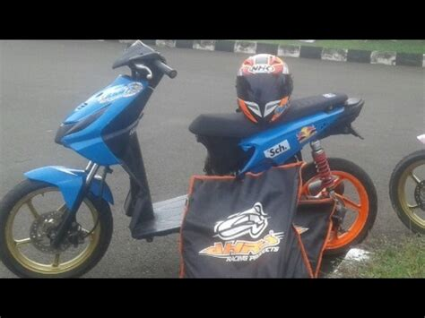 Beat Road Race by Road Race Beat Mio Scoopy In Ciamis Funnydog Tv