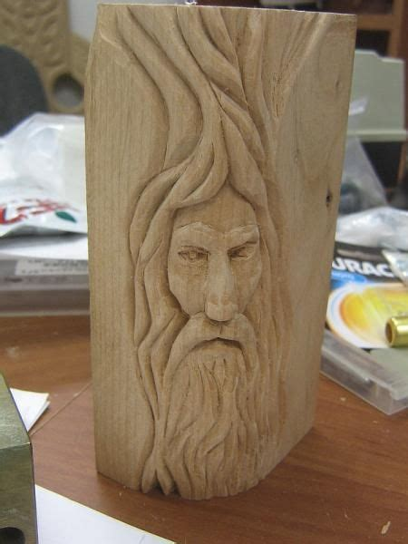 wood spirit carving patterns  plans  wood carving wood