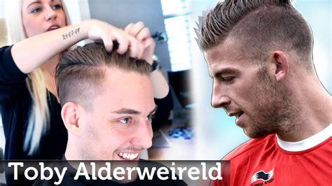 toby alderweireld hairstyle undercut  men