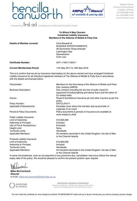 dj public liability insurance  essential