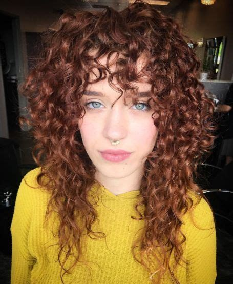 short  long layered curly hairstyles