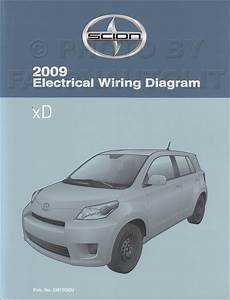 2009 Scion Xd Wiring Diagram Manual Original