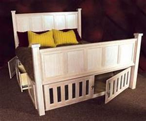 dog crates on pinterest built ins dog kennels and dogs With dog crate under bed