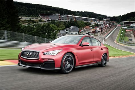 Infiniti Cars  News Q50 Eau Rouge Meets Eau Rouge