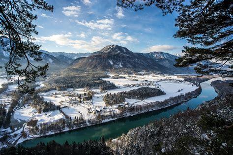 วอลเปเปอร์ : แนวนอน, ทะเลสาบ, ธรรมชาติ, การสะท้อน, หิมะ ...