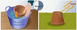 Pot De Fleur En Terre Cuite : entretenir des pots en terre cuite jardinage ~ Dailycaller-alerts.com Idées de Décoration