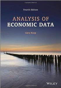Analysis Of Economic Data Hb141  K644 2013  With Images