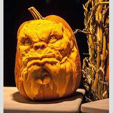 Simply Creative Pumpkin Carvings By Jon Neill