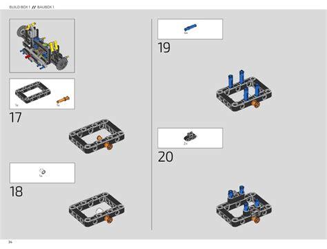 Prepare for a unique lego building experience with the lego technic 42083 bugatti chiron supercar. LEGO 42083 Bugatti Chiron Instructions, Technic